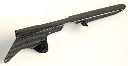 Lightech Carbon Fibre Chain Guard Kawasaki ZX10R 2011>